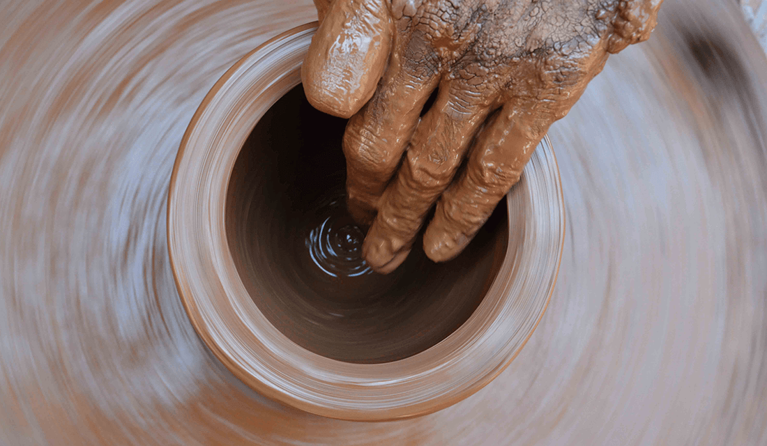 Pottery Wheel in Motion