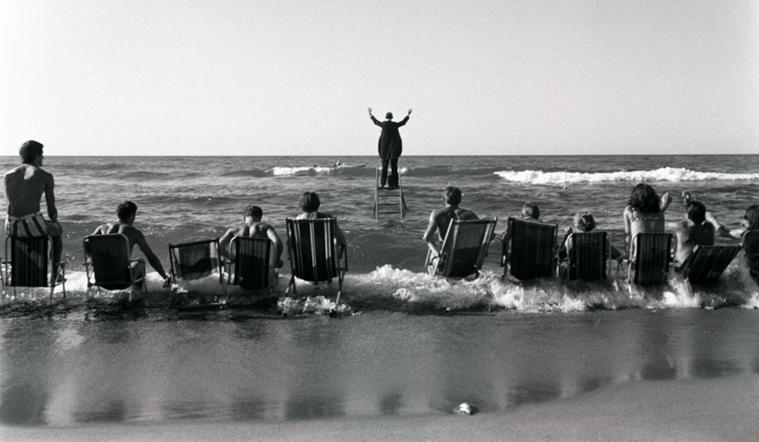 """The Sea Concert (The Panoramic Sea Happening),"" 1967 by Eustachy Kossakowski (Source: Anka Ptaszkowska/Culture.PL)"
