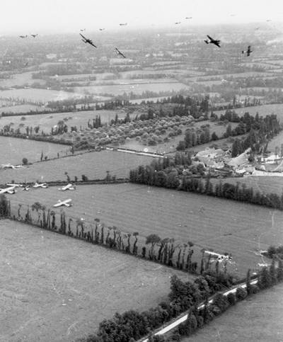 Douglas C-47's over the Cotentin Peninsula (Source: National Museum of the U.S. Air Force/Wikimedia Commons)