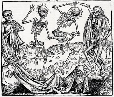 """Dance of Death"" by Michael Wolgemut (Source: Wikipedia)"