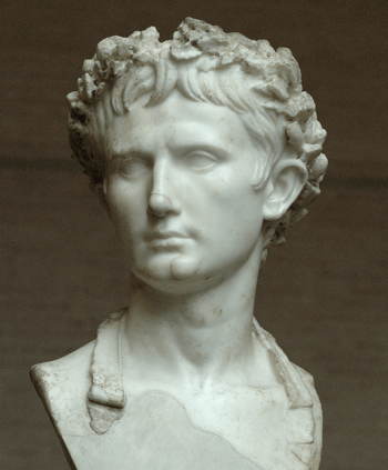 Bust of Augustus in Palace Bevilacqua, Verona (Source: Wikipedia)