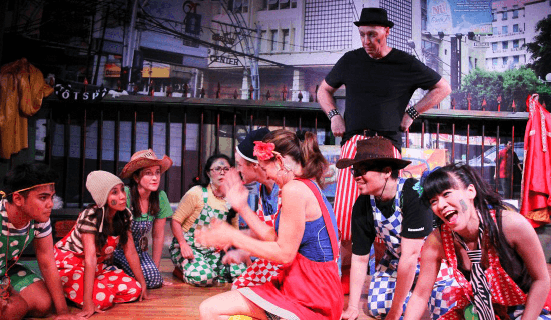 """2013 production of """"Godspell"""" (Source: Jakarta Players/Facebook)"""
