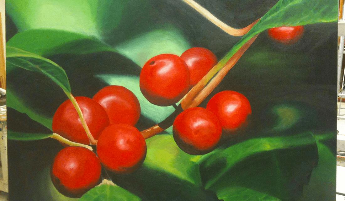 Phtalo Green Painting (Source: Colin Soper)