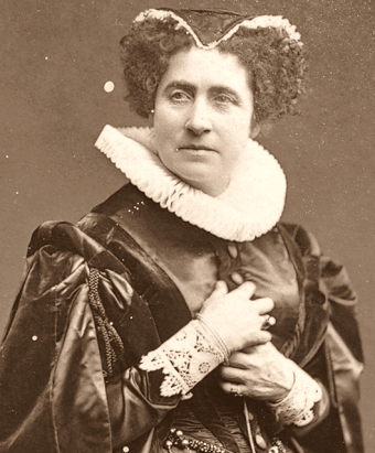 Adelaide Ristori (Source: Wikipedia)