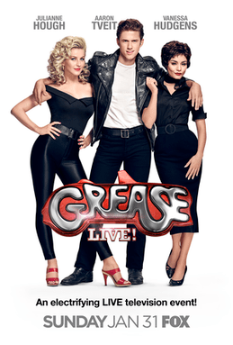 Grease Live! Poster (Source: Wikimedia Commons)