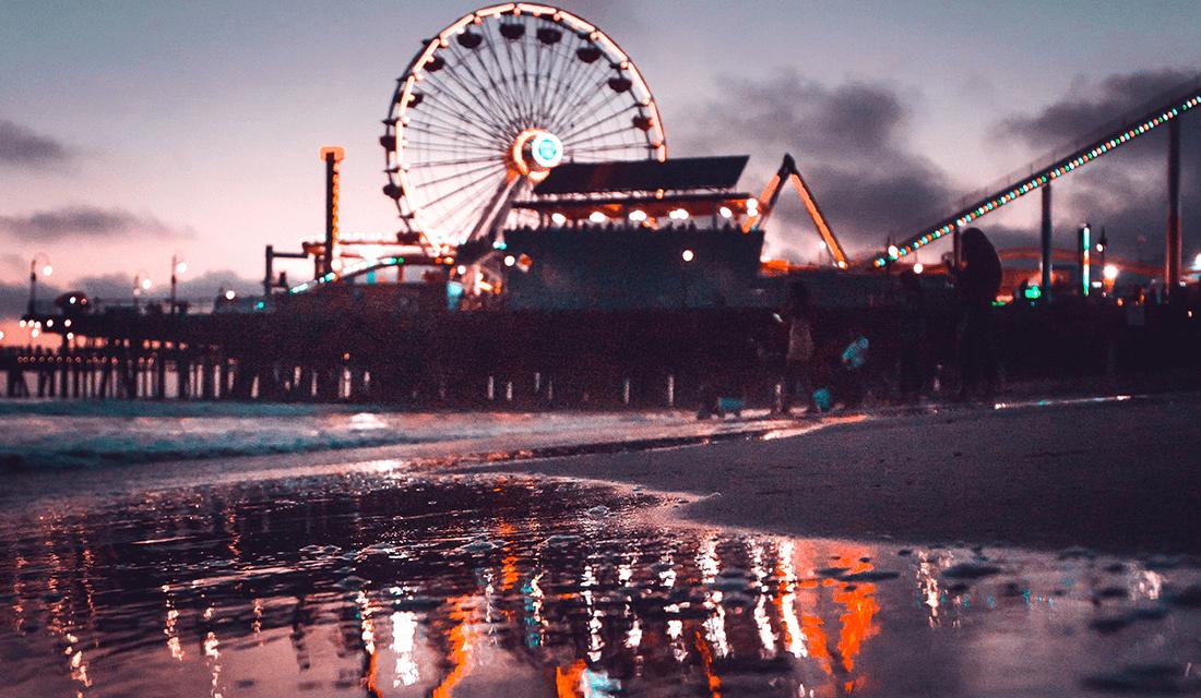 Santa Monica Pier Dirty
