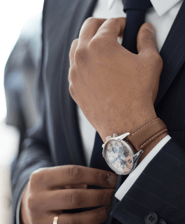 Expensive Watch and Suit