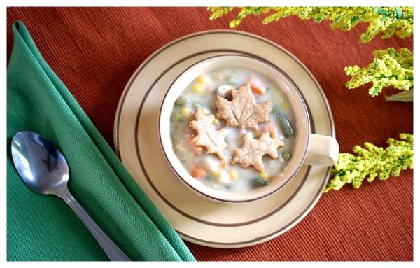 chicken pot pie soup recipe pie crust leaves