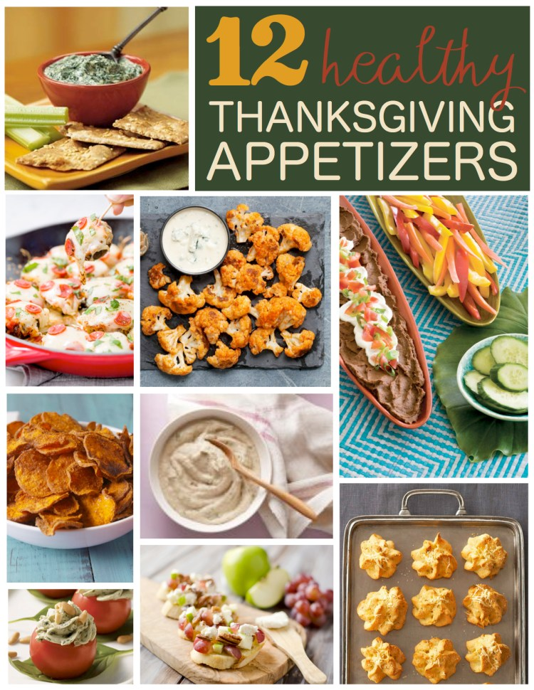 healthy appetizers fall thanksgiving recipe