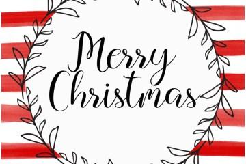 Printable Merry Christmas