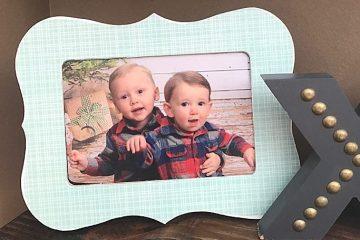 $2 DIY Custom Frame   Mod Podge DIY frame   simple home decor