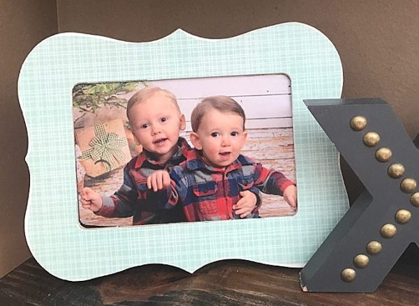 $2 DIY Custom Frame | Mod Podge DIY frame | simple home decor
