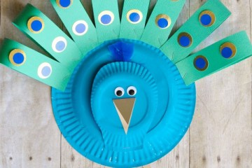 Paper Plate Crafts | Crafts for Kids | Easy Craft Ideas for Kids | Crafts Made from Paper Plates | Fun Things to Make With Kids | Check out this super cute collection of kids' crafts all made from paper plates and things you probably have around your home! Six Clever Sisters blog has the full collection of ideas!