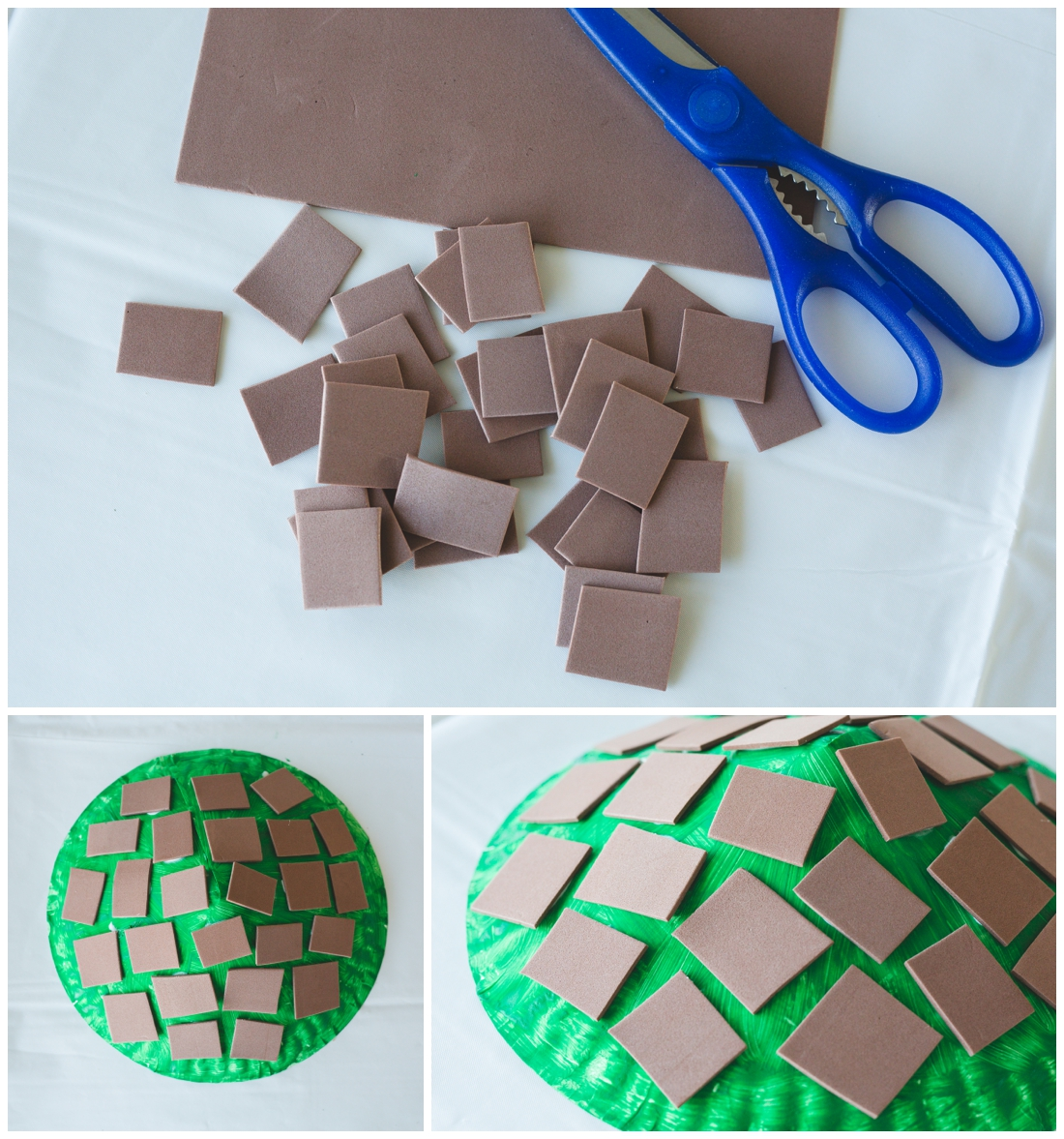 Turtle Shell Paper Craft