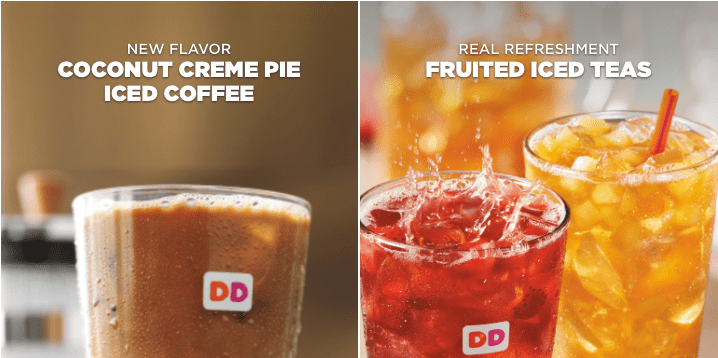 free drink Dunkin Donuts free food email sign up DD perks how to get free coffee tea