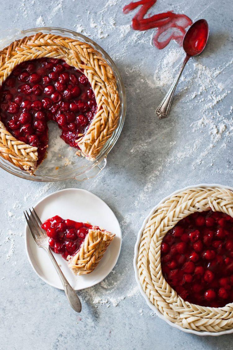 Spring Desserts | Gorgeous Dessert | Beautiful Cake Recipe | Summer Dessert Recipes | Yummy Desserts | Fruit Desserts | Chocolate Desserts | Fancy Elegant Desserts | Impressive Dessert Recipe | Eye Catching | Six Clever Sisters | Mothers Day Ideas | Mothers Day Recipe | Fishtail Braid Piecrust