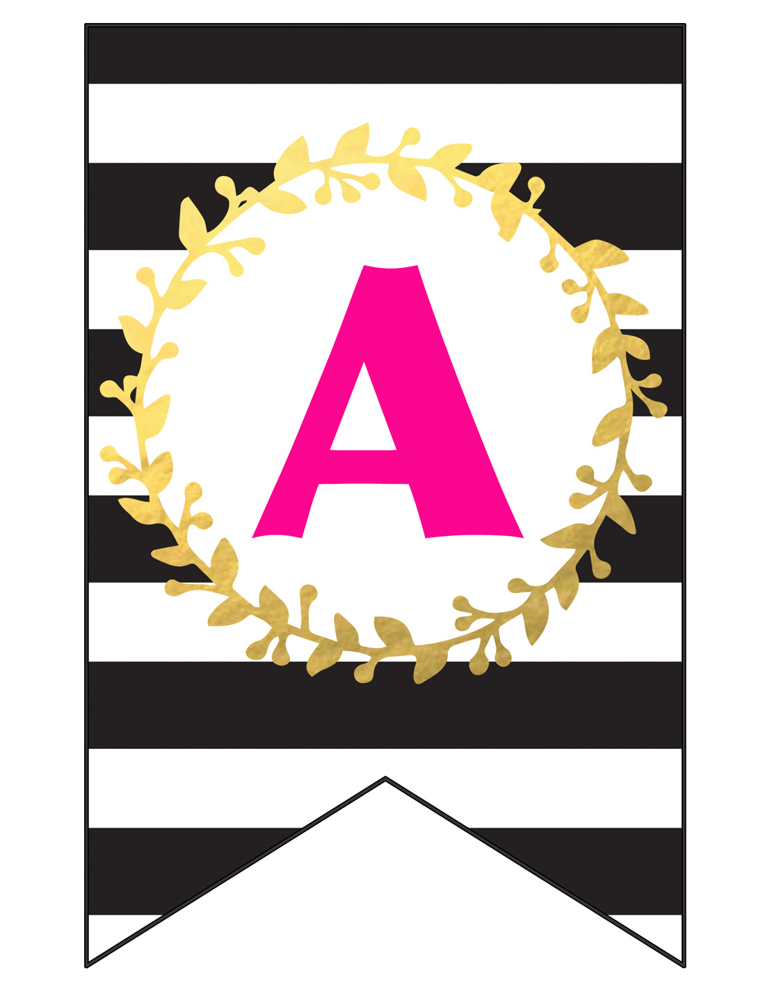 photograph relating to Happy Birthday Lettering Printables known as No cost PRINTABLE Satisfied Birthday Banner and Alphabet - 6