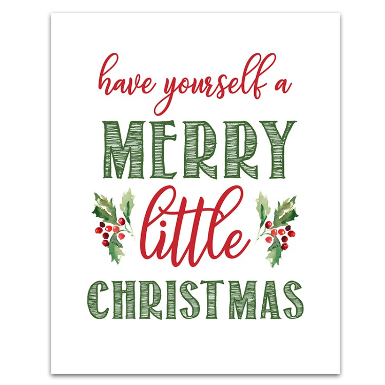 Soft image pertaining to merry christmas printable