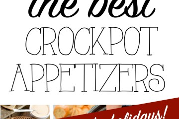 Slow Cooker Appetizers | Crockpot Recipes | Easy Holiday Recipes | Dip Recipes | Meatball Recipes | Crockpot Easy Food