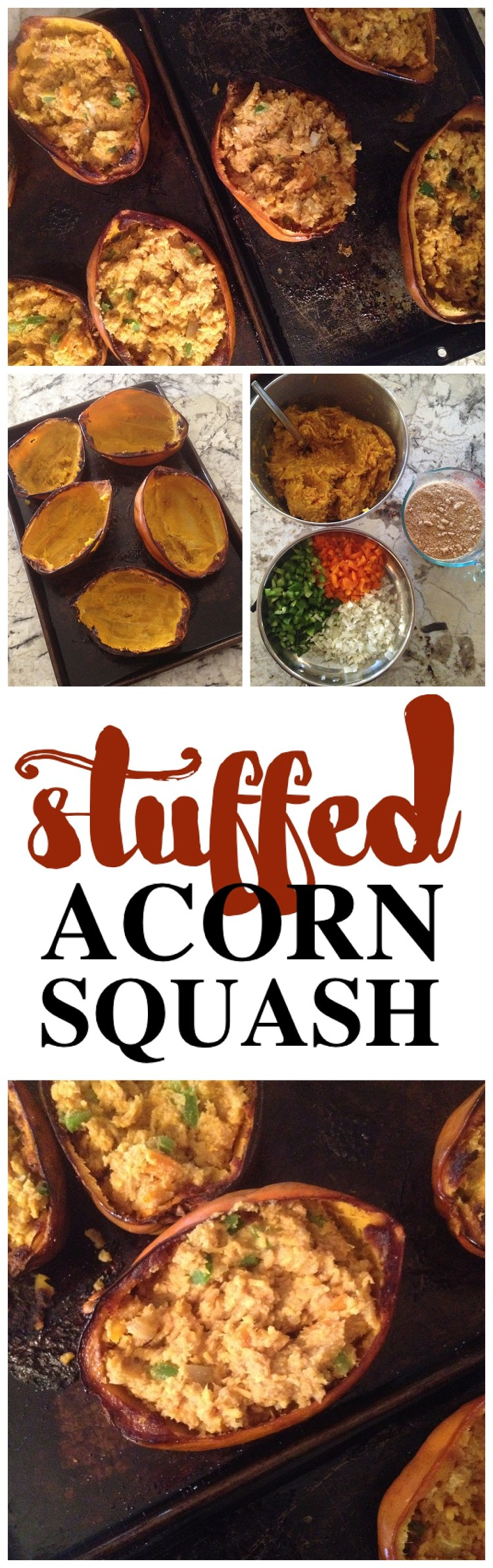 Stuffed Acorn Squash Recipe   Squash Recipes   Healthy Sides   Vegetable Recipe   Yummy Sides   Fall Food   Healthy Eating   Healthy Food   Healthy Recipe
