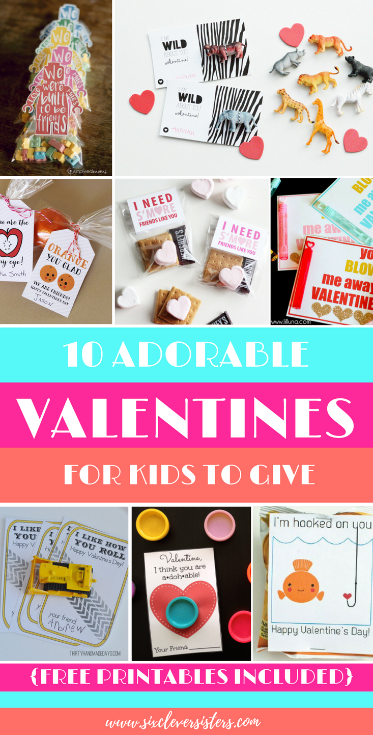 Fun Valentines For Kids | Fun Valentines For Kids Free Printables |  Valentines Ideas | Valentines