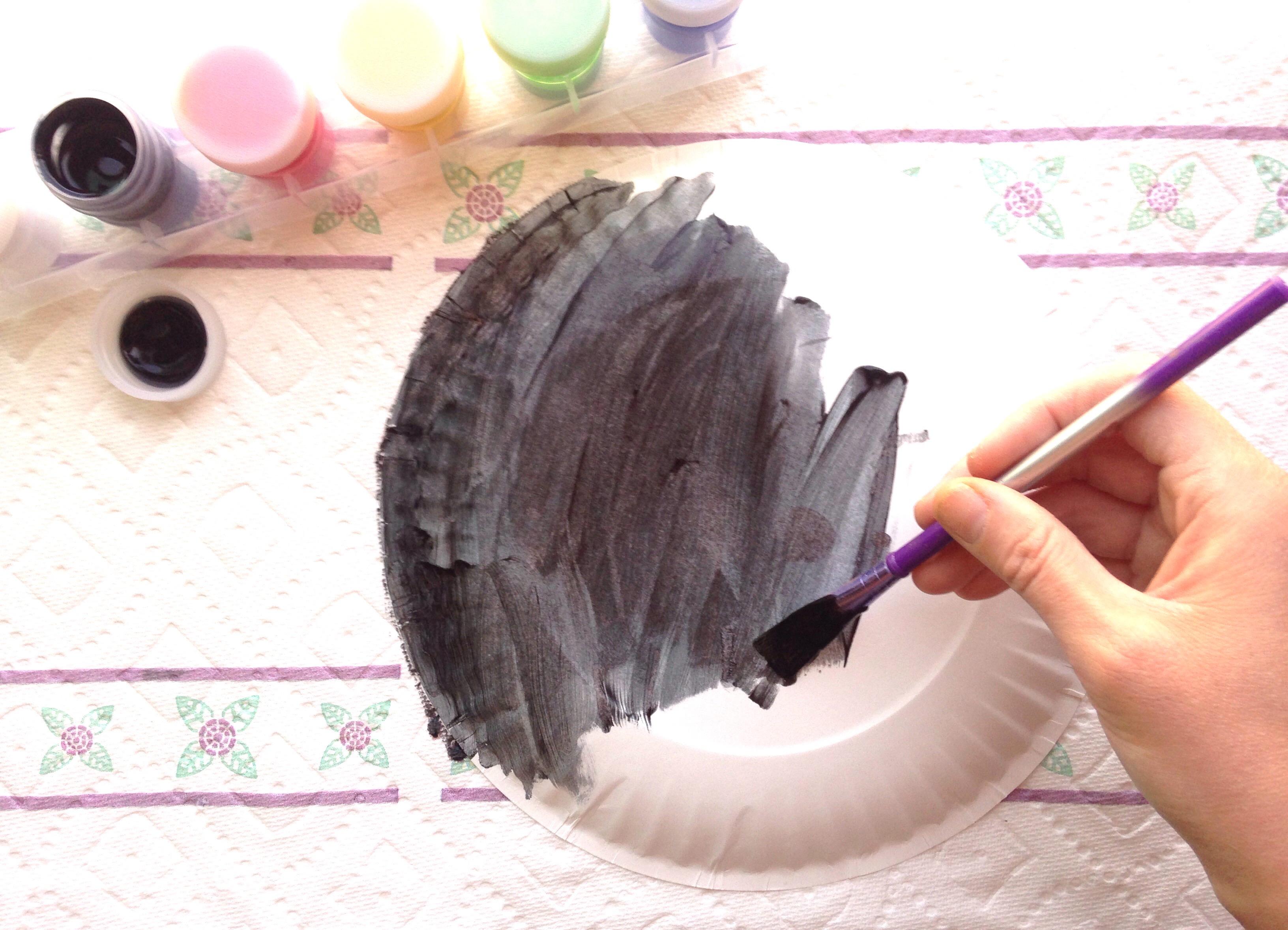 Paper Plate Crafts | Spring Crafts for Kids | Paper Plate Crafts for Toddlers | Paper & Ladybug Paper Plate Craft for Kids + Free Printable Template!_2 ...