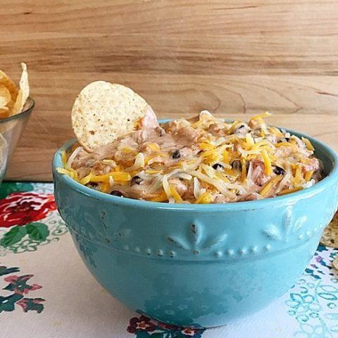 Crock Pot Black Bean and Corn Taco Dip