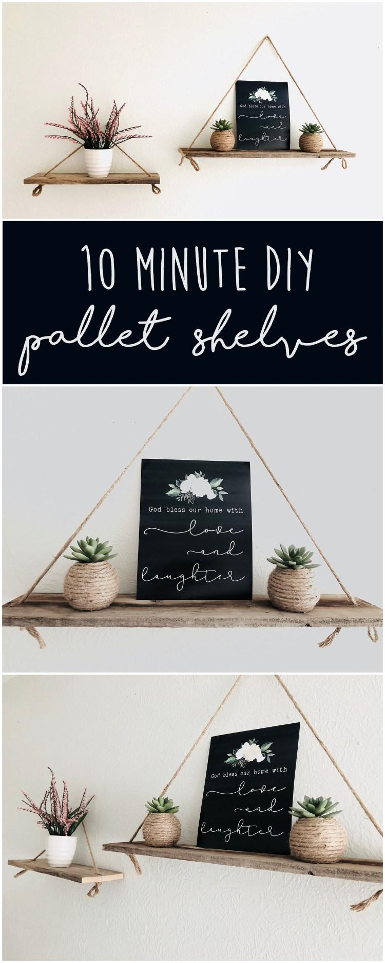 DIY Pallet Shelves | DIY Pallet Shelves Instructions | DIY Pallet Shelves Tutorial | Diy Pallet Shelves Step by Step | Making Pallet Shelves | Build Pallet Shelves | Diy Pallet Floating Shelves | DIY Pallet Hanging Shelves | Pallet Ideas for Walls | Pallet Ideas DIY | Pallet Craft Ideas