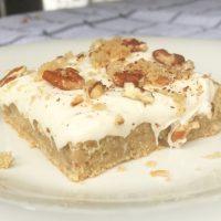 Maple Pecan Sheet Cake