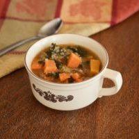 Sweet Potato, Quinoa, and Kale Stew