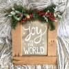 Christmas Pallet Sign   DIY Pallet Sign   Christmas Crafts   Christmas Time   Wood and Metal Sign   Christmas Pallet Ideas   Christmas Pallet Project   Christmas Pallet Crafts   Christmas Signs Wood   Christmas Signs and Sayings   Christmas Signs on Wood   Christmas Signs DIY   Six Clever Sisters