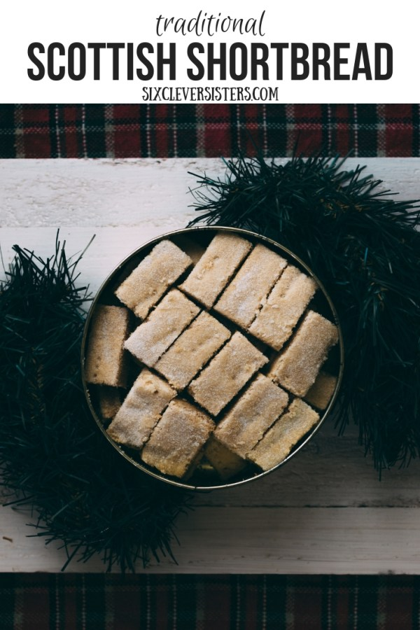 Scottish Shortbread | Shortbread Recipe | Traditional Scottish Shortbread | Christmas Shortbread | This traditional Scottish shortbread recipe is so delicious and perfect at Christmas - with the buttery and crispy flavors, this recipe is the perfect addition to your classic Christmas cookie recipes!
