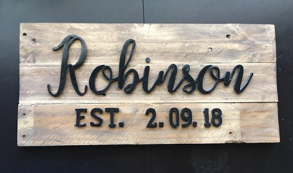 DIY family name sign | DIY family name wood signs | DIY family name established sign | DIY personalized family name signs | DIY wood family name sign | DIY family name plaque | DIY family name wall art