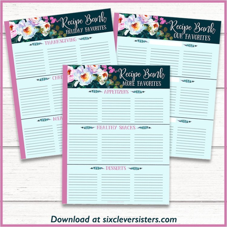 Printable Meal Planner Pages | Happy Planner Meal Planner Printable | Happy Planner Meal Planner Printable | Happy Planner Meal Planner Menu Planning | Happy Planner Recipe Planner | Happy Planner for Meal Planning | Happy Planner Weekly Meal Planner