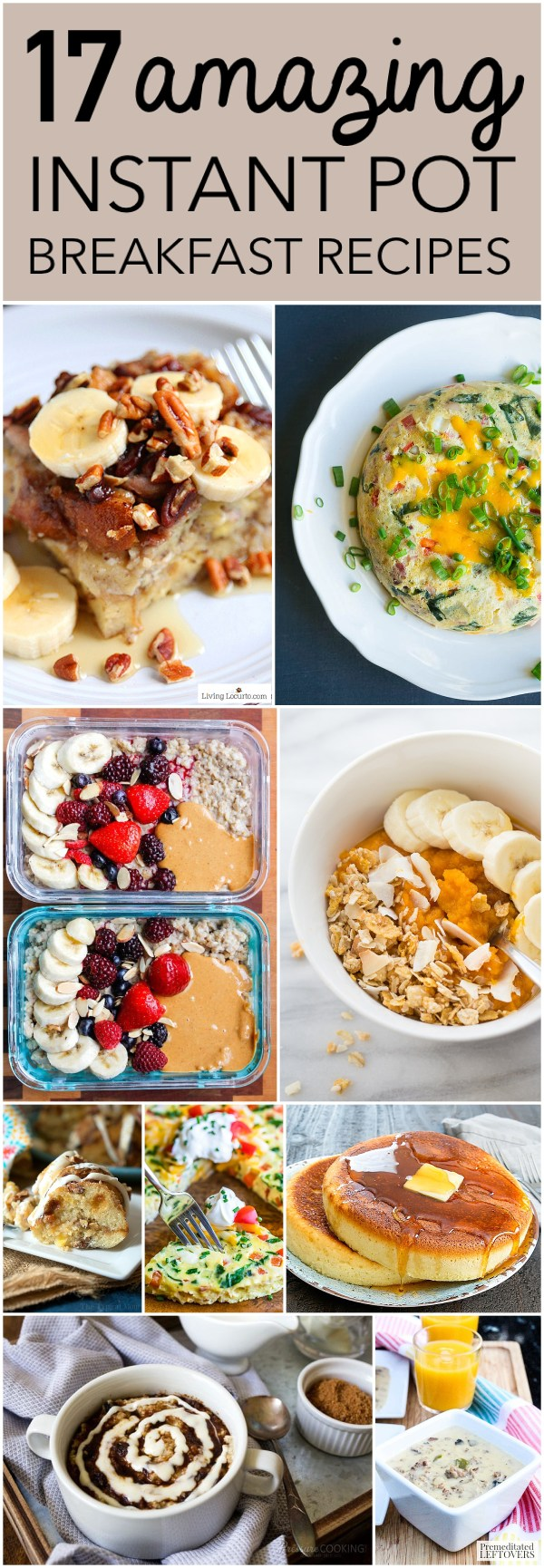 17 Awesome Breakfasts To Make In Your Instant Pot Six Clever Sisters