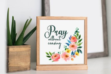 Scripture Printable |Prayer Printables Free | Scripture Printables Free Download | Printables Religious | Scripture Printables PDF | Printables Christian | Pray | Prayer Printable