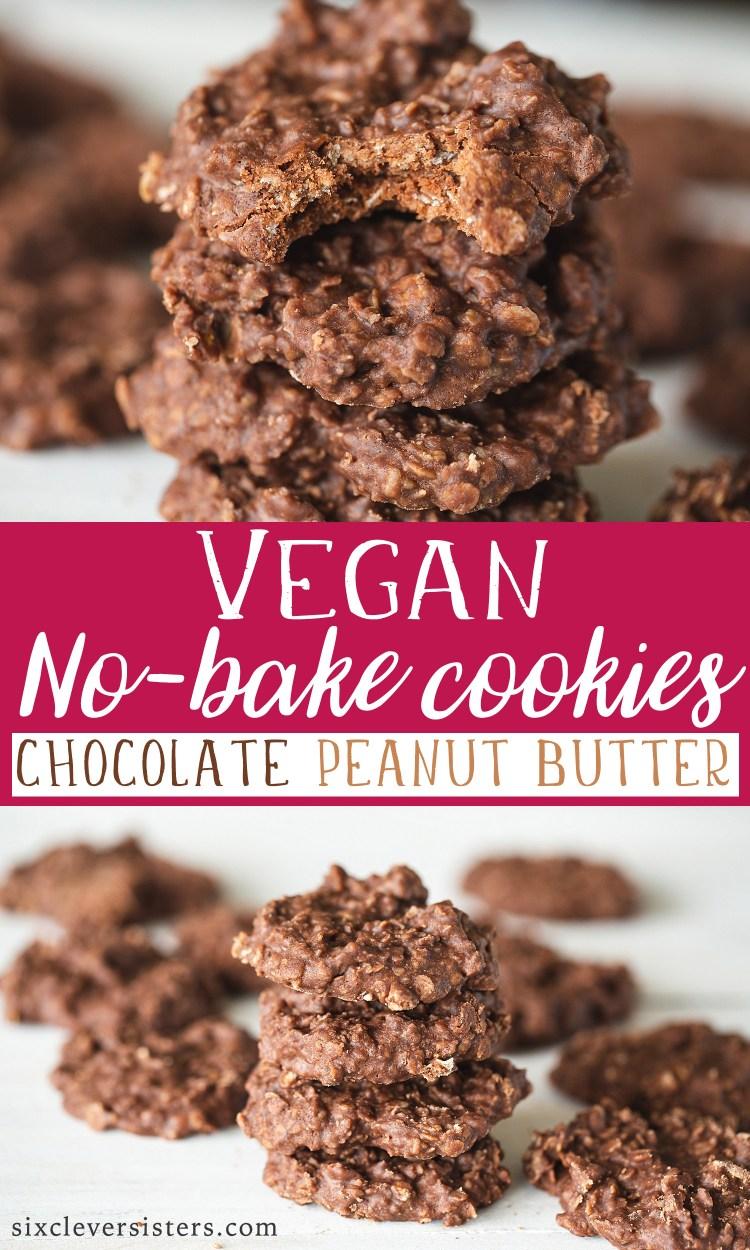 Vegan No Bake Cookies   Vegan Cookies Easy   Vegan No Bake Cookies Recipe   Vegan No Bake Cookies Peanut Butter   Vegan Cookies   Vegan No Bake Desserts   Vegan Vegan Recipes   Vegan No Bake Cookies Coconut Oil