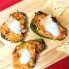 Enchilada Stuffed Peppers   Easy Dinner Ideas   Quick Dinner Recipes   Easy Dinner Recipes   Low Carb Recipes   Keto Diet   Stuffed Peppers   Mexican Food   Healthy Meals   Kid Friendly   Chicken Recipe   Cheese   Six Clever Sisters