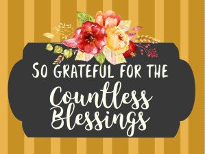 Fall Printable | Thanks | Thankful Printable | Thanksgiving | Fall 2019 | Blessings Printable | Free Download | 5x7 | 8x10 | Six Clever Sisters
