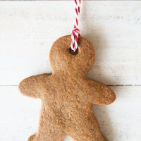 Grandma's Molasses Cookie Ornaments