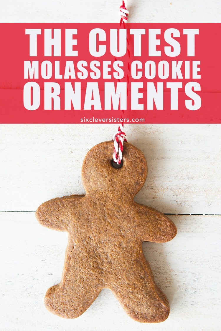 Recipe for these molasses cookies on the Six Clever Sisters blog!