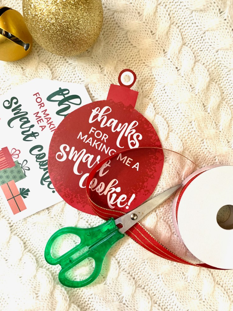 Christmas Printable | Christmas Gift Idea | Teacher Gift Ideas | Christmas Teacher Gift | Gifts for Teachers | Christmas Ideas | Christmas Decor | Christmas Cookies | Easy Christmas Idea | Kids Christmas Idea | Kids Easy Project | Kids Gift | Handmade Gifts | Homemade Gifts | Budget Gifts | Frugal Gifts | Six Clever Sisters