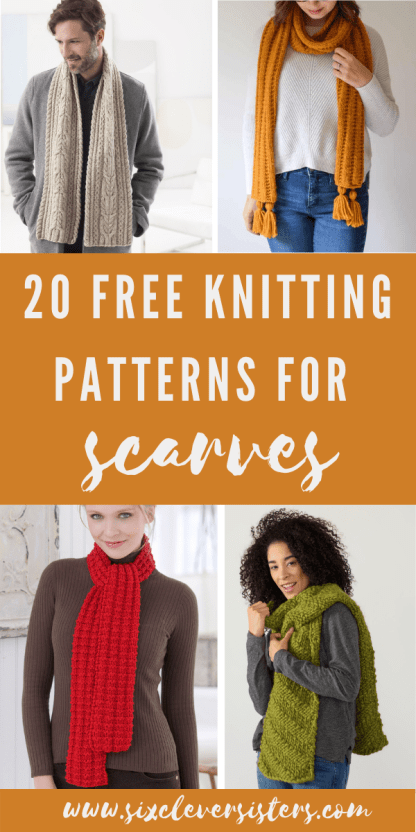 Scarf Knitting Patterns | Scarf Knitting Patterns Free | Scarf Knitting Pattern Beginner | Free Knitting Patterns | Free Knitting Patterns for Scarves | Free Knitting Patterns | Scarf Pattern | Scarf Patterns Knitting | Scarf Patterns Knitting Free | Scarf Pattern Free | Scarf Pattern Free Easy | If you're looking for a free pattern for a knit scarf, we've got a great compilation! From simple to more complex and everything in between, you're sure to find one you love! #knit #knitting #scarf #scarves #freepattern #patterns #tutorial #howto #fall #diy #giftideas