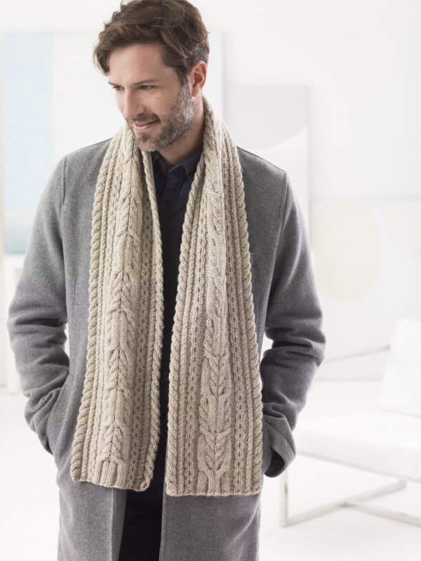 20 Easy Knit Scarves all free patterns 1