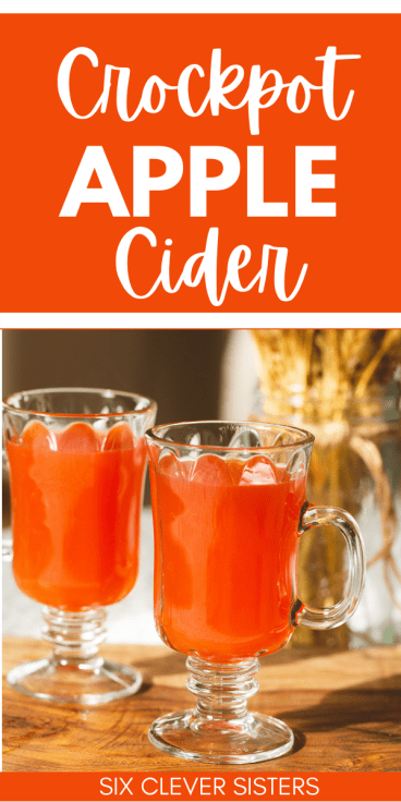 Apple Cider | Apple Cider Recipe | Apple Cider Recipe Easy | Apple Cider Recipe Slow Cooker | Apple Cider Hack | Apple Cider Recipe Crockpot | Apple Cider Recipe Easy Crockpot | Easy Red Hot Apple Cider | Red Hot Apple Cider | Slow Cooker Cinnamon Apple Cider | This cinnamon spiced cider is one of our favorites! There's a simple hack to make this delicious drink. #cider #fall #recipe #recipeoftheday #applecider #autumn #hack #slowcooker #crockpot