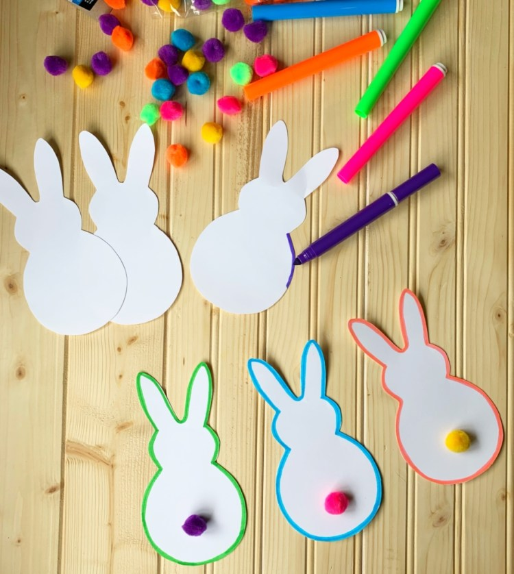 Bright Bunny Party | Bunny | Girl Party | Party Ideas | Birthday | DIY Party | Ideas for Girl Party | Party Decor | Easy DIY Party | Easter | Easter Decor | Six Clever Sisters
