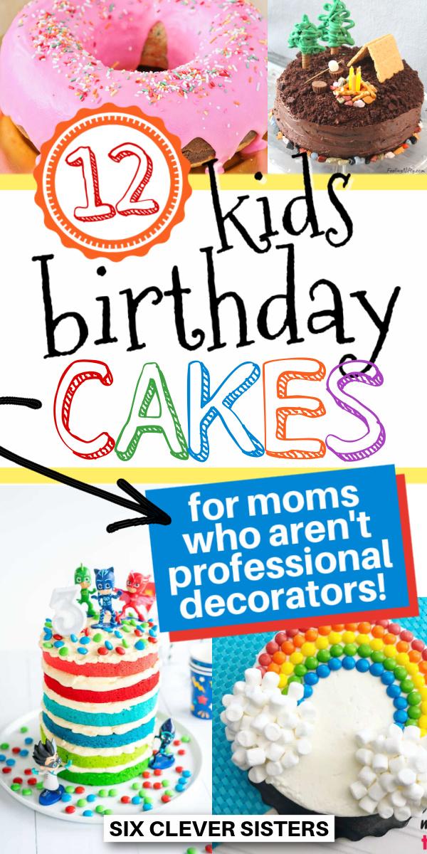 how to make kids birthday cakes
