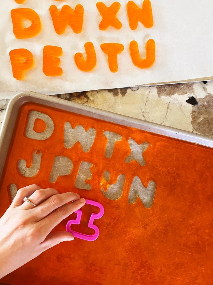 Finger Jello | Finger Jello Recipe | Jello Finger Blocks | Jello Jigglers Recipe | Jello Jigglers Directions | Jello Jiggler Dessert | Making finger jello is a great way for kids to learn colors, shapes, letters ... it's a fun way to eat a snack! #jello #kids #kidsactivities #snack #recipe #learning