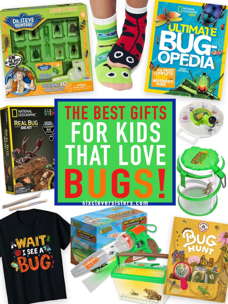 Bug Gifts | Bug Gift Ideas | Bug Gifts for Kids | Bug Gift Ideas for Kids | Bug Birthday Gifts