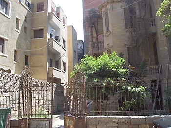 Recent photo of Rami Mangoubi's former house in Egypt